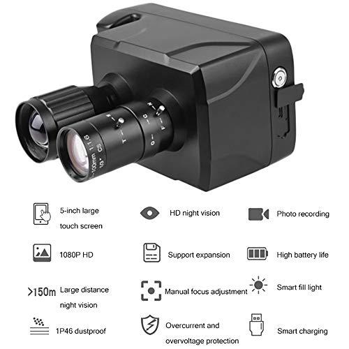HD Digitale Visione Notturna Binocolo, con Touch Screen Infrarosso HD Video IR Registrazione di Foto...