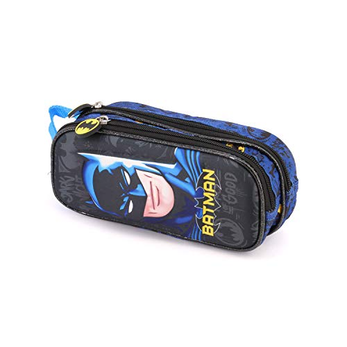 Karactermania Batman Knight-3D Doppelfedermppchen Astuccio, 22 cm, Multicolore (Multicolour)
