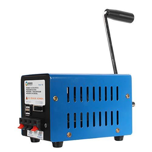 DyNamic Notstromaggregat Protable Notfall Handkurbel Generator SOS Survival Ladegerät
