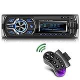 KYG Autoradio Bluetooth Main Libre Radio Voiture avec 2 Ports USB et MMC...