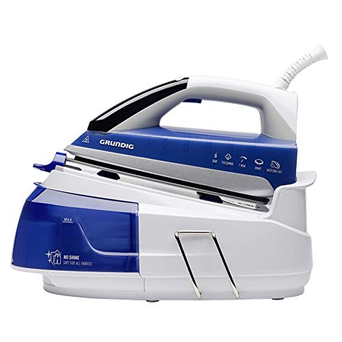 Grundig GMN7070 SIS 8670 1 L Blau, Weiß – Dampfbügelstation