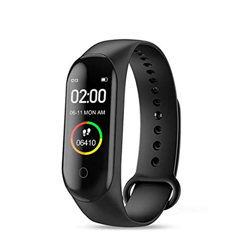 Vebeto Smart Fitness Band Watch Real time Monitor Blood Pressure Heart Rates Activities Tracker Waterproof Bracelet Digital Health Wristband with USB Magnetic Charging Cable for Android Phones