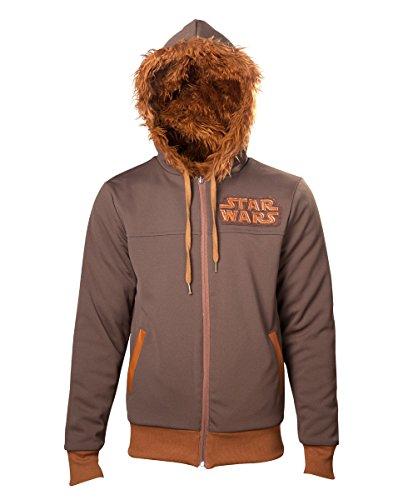 Star Wars Felpa Reversibile - Chewbacca [Andere Plattform] L braun - [Edizione: Germania]
