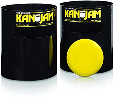 No.1 OUTDOOR GAME: The No. 1 Outdoor Party Game in America: Kan Jam is tremendously fun and a popular competitive team game similar to cornhole, washer toss and horseshoes. HOW TO PLAY: Take turns throwing and deflecting the flying disc across the ya...