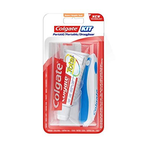 COLGATE - Kit de Voyage Colgate Total Original - Mini-Brosse à Dents...