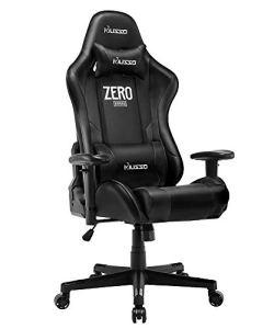 Musso Ergonomic (Orange) Gaming Chair Adjustable Esports Gamer Chair, Adults Racing Video Game Chair, Large Size PU Leather High-Back Executive Office Chair