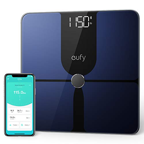 eufy by Anker, Smart Scale P1 with Bluetooth, Body Fat Scale, Wireless Digital Bathroom Scale, 14...
