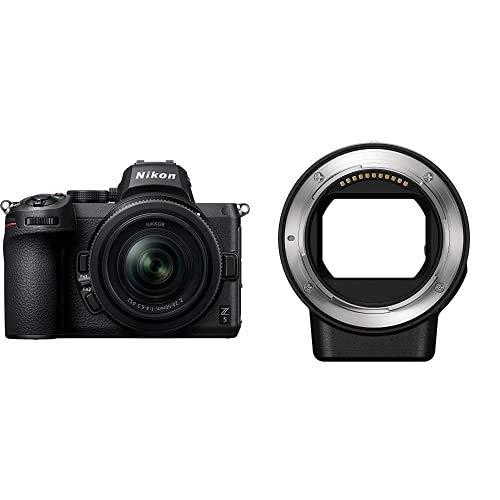 【FTZマウントアダプターセット】 Nikon ミラーレス一眼カメラ Z5 レンズキット NIKKOR Z 24-50mm f/4-6.3 付属 Z5LK24-50 ブラック + Nikon マウントアダプターFTZ Zマウント用 Fマウント用