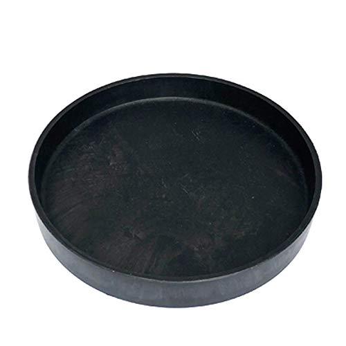 BLACK PLASTIC SAUSER 黒 プラ鉢 厚口 ブラックポット プラスチック シンセティックポット 植木鉢 塊根 コ...