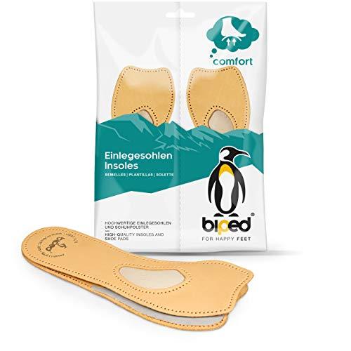 biped 4/5 Soutien confort en cuir - Semelles orthopédiques pour escarpins, ballerines et sandales z2226 (38)