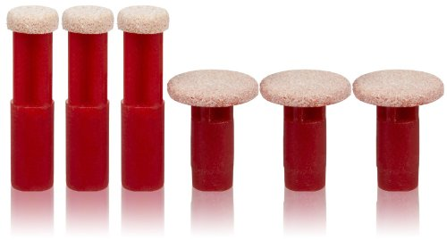 PMD Personal Microderm Mixed Replacement Disc, Red Coarse