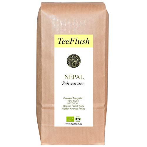 Nepal Schwarztee, First Flush, SFTGFOP1, Bio, lose, 500g, Guranse Teegarten, Geschmack: spritzig-blumig