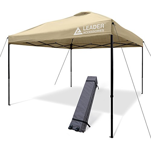 Leader Accessories Pop Up Canopy Tent 10'x10' Canopy Instant...