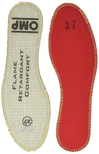 OMP OMPIC/10037 Gel Insole para Endurance Zapatillas, Marrón, Talla 37