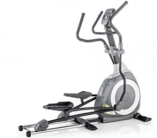 Kettler Axos Crosstrainer | Met 12 programma's en 16 weerstandsniveaus | Met geheugen voor 4 personen | Inclusief hartslagsensoren | Zwart & antraciet