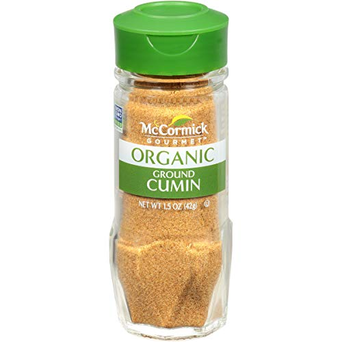 McCormick Gourmet Organic Ground Cumin, 1.5 oz