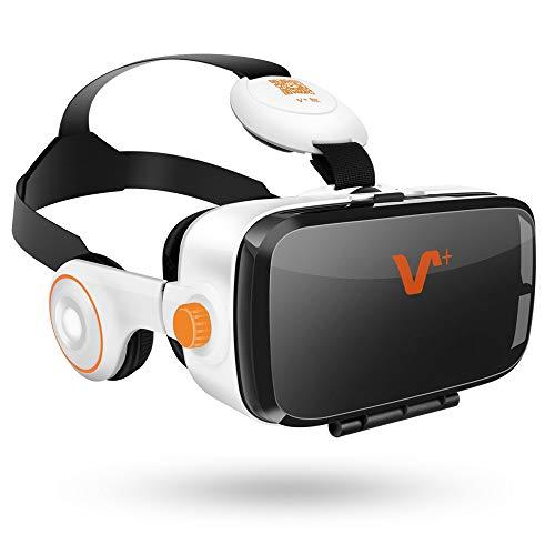 VOX PLUS 3DVR ゴーグル イヤホン実装・音量調整・動画一時停止 iPhone6s 7Plus Samsung Sonyなど多機種対応