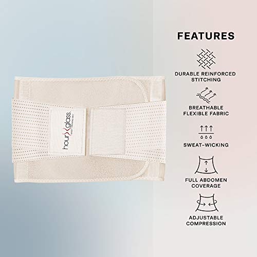 Waist Trainer Corset with Sweat Cream – Women's Slim Abs Waist Trimmer with Slimming Body and Skin Gel (Beige, S/M) 6