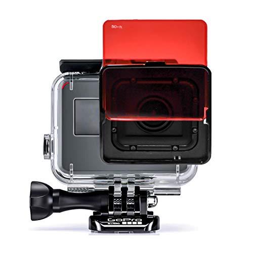 SANDMARC Aqua Filtro per GoPro Super Suit - Hero 7, 6, 5 -Rosso, Magenta e filtro di colore Giallo - 5 Pack