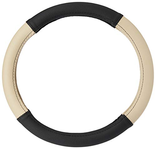 Amazon Brand - Solimo Steering Cover (Small), Beige