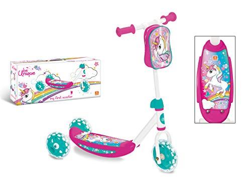Mondo Toys - My First Scooter UNICORN - Monopattino Baby bambino/bambina - 3 ruote - borsetta porta...