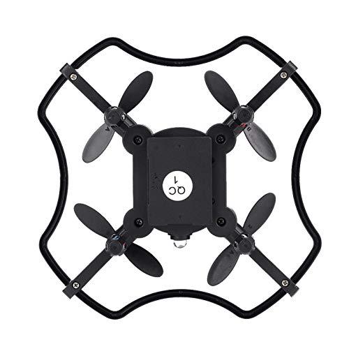 Accessori di qualit Mini drone F19 4CH 2.4G, fotocamera da 0, 3 MP 720x576 telecomando, app Quadcopter Smart Voice, giroscopio a 6 assi, diverse modalit di velocit, esterno e interno(ARANCIONE)