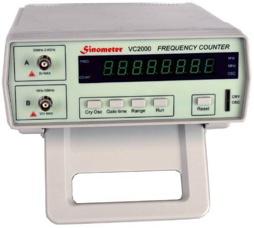 Sino meter VC2000 Bench Frequency Counter, 10Hz - 2.4 GHz