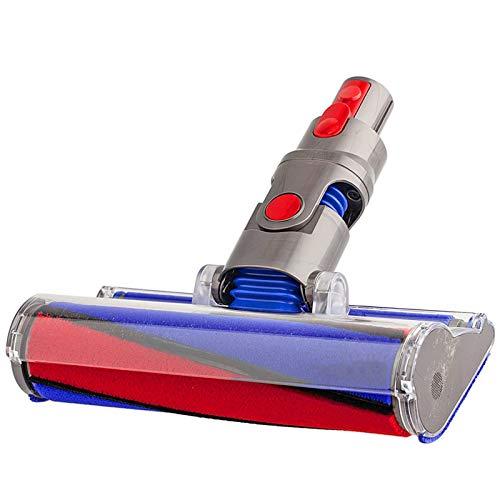 SPARES2GO Spazzola per spazzole per pavimenti a rullo morbido per aspirapolvere a batteria Dyson V8