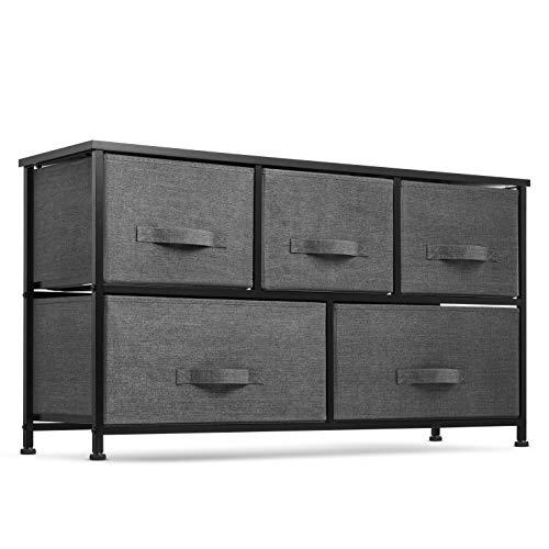 fabric storage dresser for bedroom