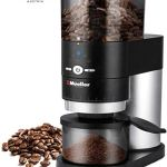 Mueller Ultra-Grind Conical Burr Grinder Professional Series, Innovative Detachable PowderBlock Grinding Chamber for Easy Cleaning and 40mm Hardened Gears for Long Life 23