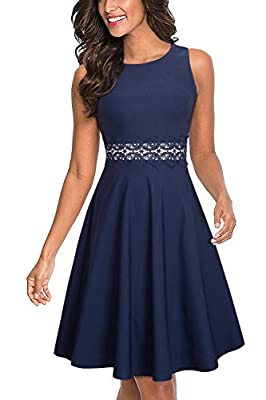 Style: Elegant Cocktail Wedding Guest Dress Features: two versions - Sleeveless& 3/4 sleeve, Crew Neck, Knee-Length, A zipper at back Pls check the Product Description,different colors are made of different material. Occasions: Suitable for many occa...