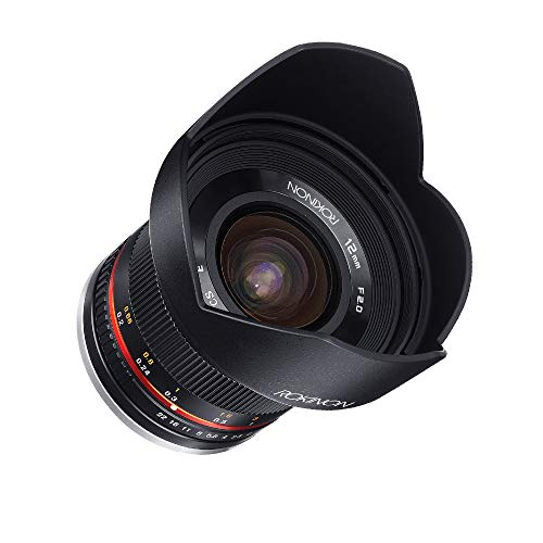 Rokinon 12mm F2.0 NCS CS Ultra Wide Angle Fixed Lens for Olympus and Panasonic Micro 4/3 (MFT) Mount Digital Cameras (Black) (RK12M-MFT)