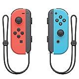Nintendo Switch Paire de manettes Joy-Con - droite bleu néon/gauche...