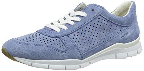 Geox D Sukie B, Zapatillas para Mujer, Azul (Lt Blue C4003), 37 EU