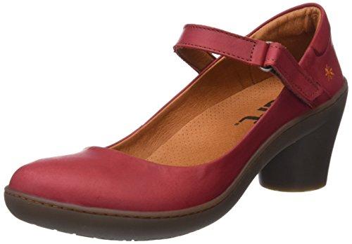 Art Alfama, Zapatos de tacón con Punta Cerrada Mujer, Rojo (Amarante), 39 EU