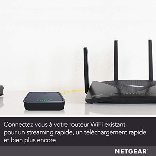 41Rk4pgGTjL._SL500_ [Bon plan] !  NETGEAR Modem 4G LTE (LB2120), Compatible avec toutes les Cartes SIM européennes, 2 ports Ethernet Gigabit, Ultra C...