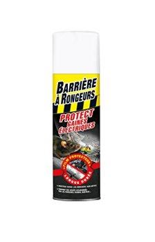 BARRIERE A RONGEURS Résine Protect Gaines électriques, Jusqu'à 6 mois, Aérosol 400 ml, BARGAINE400