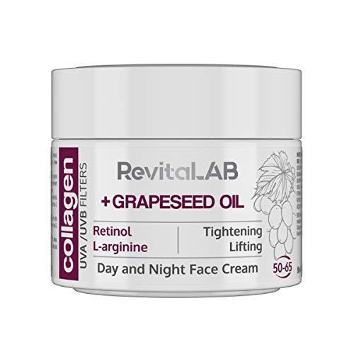 RevitaLAB - Crema hidratante antiarrugas de día y de noche