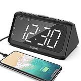 ANJANK Digital Alarm Clock Radio, Dual Alarms...