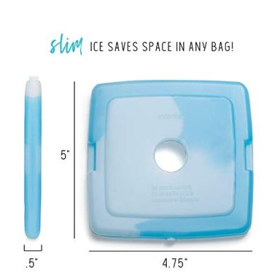 Fit-Fresh-Cool-Coolers-Reusable-Ice-Packs-Set-of-4-Clear-Package-may-vary