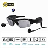 ISCREM Wireless Sunglasses Camera, Camera Glasses Full HD 1080P Mini Video Camera for Outdoor Sports Driving,Riding,Fishing,Motorcycle(339)