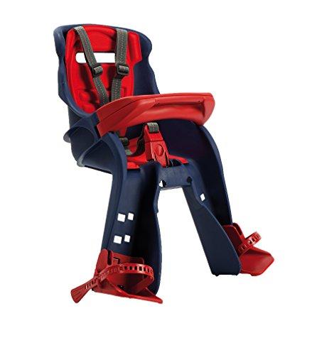 OKBABY Orion - Seggiolino Anteriore per Bambini, Sicurezza in Bicicletta dai 7/8 Mesi (15 kg) - Blu