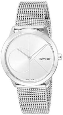 Calvin Klein Unisex Minimal Watch - K3M2212Z Silver One Size