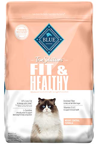 Blue-Buffalo-True-Solutions-Fit-Healthy-Natural-Weight-Control-Adult-Dry-Cat-Food-Chicken-11-lb