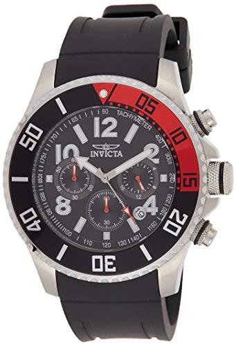 Invicta 15145 Pro Diver Herren Uhr Edelstahl Quarz schwarzen Zifferblat