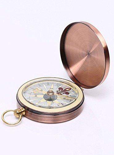 MMY-Boussole Compass Poche de Compas Portable pour Voyage L'extérieur...