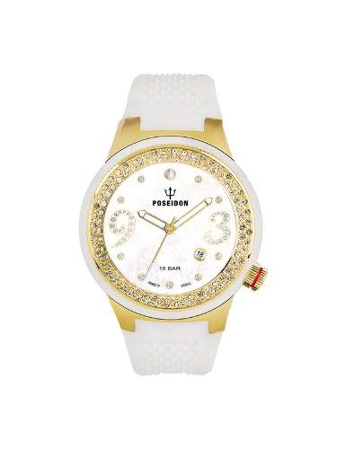 Kienzle Damen-Armbanduhr POSEIDON Lady Analog Quarz Silikon K2112024023-00425