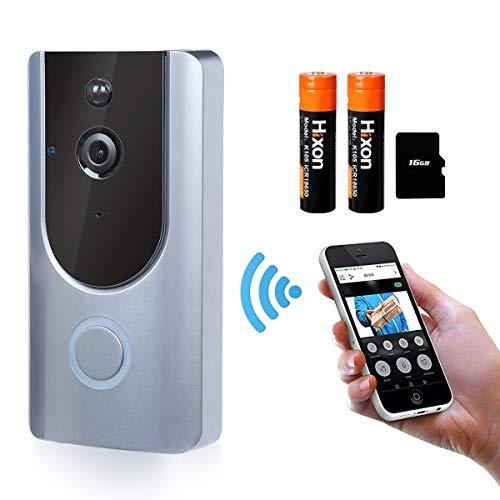 Videocitofono Campanello Wireless Senza Fili Impermeabile 720P HD Camera Remoto Controllo Audio...