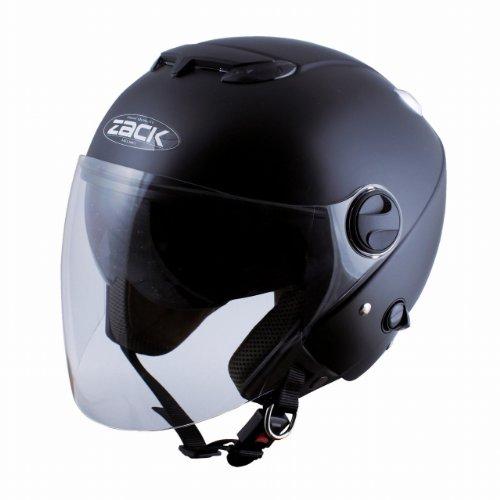 TNK工業 スピードピット ZJ-3 ヘルメット ハーフマットブラック 51006 ジェット DEEPFREE (頭囲 58cm~60cm未満)