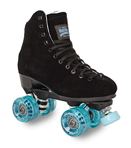Boardwalk Black Outdoor Roller Skate - Blue Motion (Mens 8 - Womens 9)
